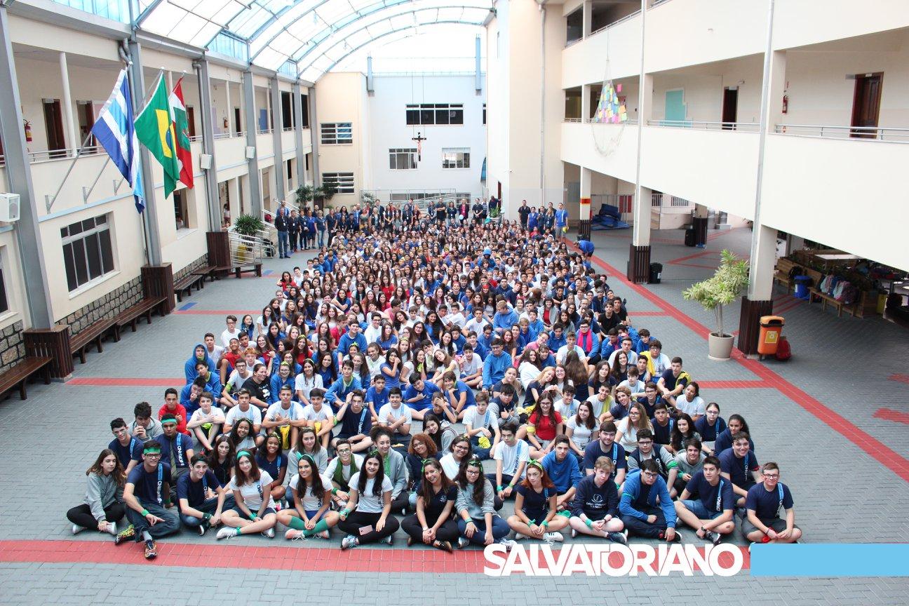Gincana comemorativa dos 60 anos do Colégio